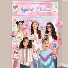 Girl-Chella Party Supplies - Photo Props Scene Setter &