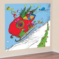 Dr Seuss The Grinch Wall Decoration Scene Setters