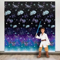 Star Wars Party Decorations - Scene Setters Galaxy