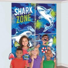 Shark Splash Party Decorations - Scene Setters