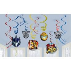 Transformers Swirls Hanging Decorations