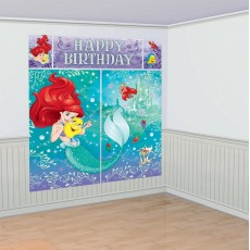 The Little Mermaid Ariel Dream Big Scene Setters Pack of 5