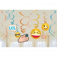 Emoji LOL Swirl Hanging Decorations