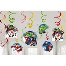 Avengers Epic Swirl Hanging Decorations