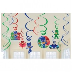 PJ Masks Swirl Hanging Decorations