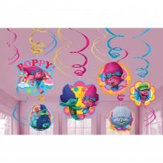 Trolls Swirl Hanging Decorations