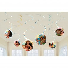 Moana Spiral Hanging Decorations