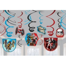 Star Wars Rebels Swirls Hanging Decorations