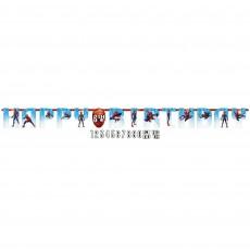 Spider-Man Webbed Wonder Jumbo Add an Age Letter Banner 3.2m