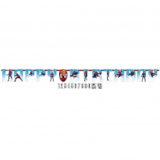 Spider-Man Webbed Wonder Jumbo Add an Age Letter Banner
