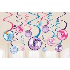 My Little Pony Friendship Adventures Swirls Hanging Decorations