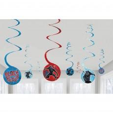 Black Panther Spiral Hanging Decorations