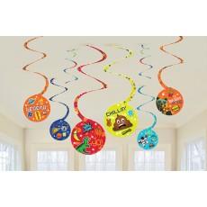 Epic Swirl Hanging Decorations