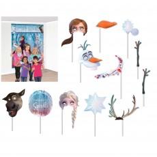 Disney Frozen Party Decorations - Scene Setters Frozen 2 Photo Props