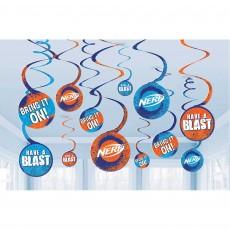 Nerf Spiral Hanging Decorations