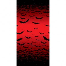 Halloween Frightful Fangs Room Roll Misc Decoration
