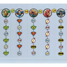 Justice League Heroes Unite String Hanging Decoration