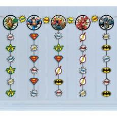 Justice League Party Decorations - Hanging Decoration Heroes Unite