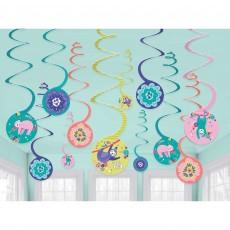 Sloth Spiral Hanging Decorations
