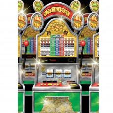 Casino Night Slot Machine Scene Setters