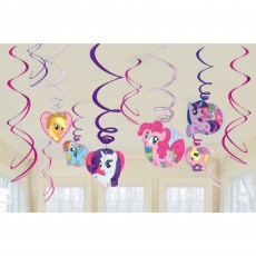My Little Pony Friendship Swirls Hanging Decorations