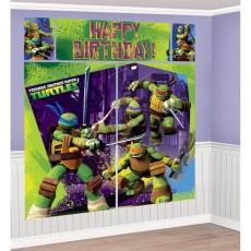 Teenage Mutant Ninja Turtles ii Scene Setters Pack of 5