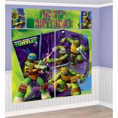 Teenage Mutant Ninja Turtles Scene Setters Pack of 5