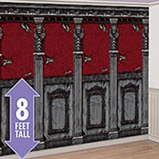 Halloween Gothic Mansion Room Roll Scene Setters