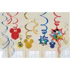 Mickey Mouse & Friends Swirls Hanging Decorations