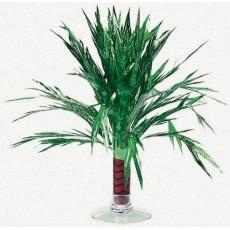 Hawaiian Luau Mini Palm Tree Foil Centrepiece