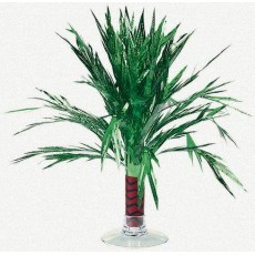 Hawaiian Party Decorations Mini Palm Tree Foil Centrepieces