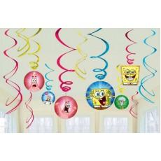 SpongeBob Squarepants Swirls Hanging Decorations