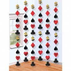 Casino Party Decorations Place Your Bets String Hanging Decorations