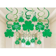 St Patrick's day Mega Value Hanging Decorations