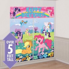 My Little Pony Party Decorations - Scene Setters Friendship