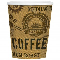 Classic Roast Hot Coffee Cups Party Supplies -