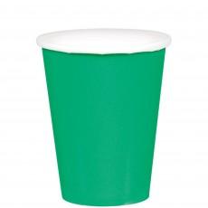 Green Festive  Paper Cups
