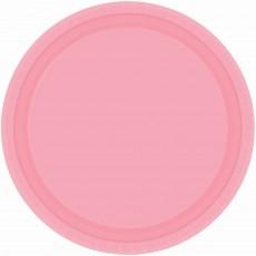 Pink New Paper Banquet Plates