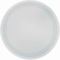 Silver Paper Banquet Plates