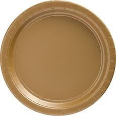Gold Banquet Plates