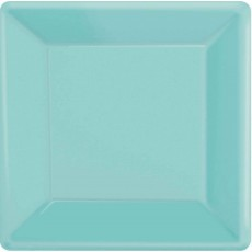 Blue Robin's Egg Paper Banquet Plates