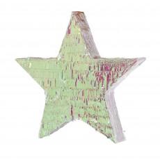 Iridescent Foil Star Pinatas 46.99cm x 45.09cm x 8.26cm