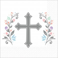 First Communion Party Supplies - Beverage Napkins Holy Day Blessed Day