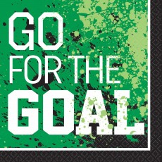 Soccer Goal Getter Lunch Napkins