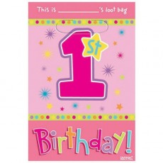 Girl One-derful Party Supplies - Party Packs