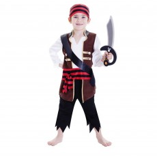 Pirate Deluxe  Boy Child Costume