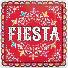 Mexican Fiesta Picado De Papel Banquet Plates