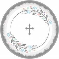 First Communion Party Supplies - Banquet Plates Holy Day