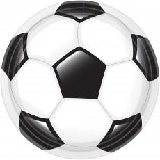 Soccer Goal Getter Dinner Plates