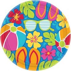 Hawaiian Summer Splash Banquet Plates